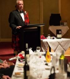 John MacNeacail of MacNeacail and Scorrybreac   -    20121013 - Clan MacNicol Céilidh -Launceston, Tasmania, Australia