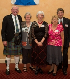 Members of the Clan MacNicol Society of New Zealand  -  20121013 - Clan MacNicol Céilidh -Launceston, Tasmania, Australia