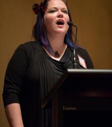 Jennifer Nicholson Church of Vancouver, BC  - 20121013 - Clan MacNicol Céilidh -Launceston, Tasmania, Australia