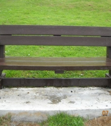 Bench Seat on the Clan Lands, Portree, Scotland